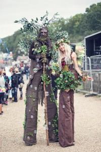 fairy stilt walkers, walking trees.