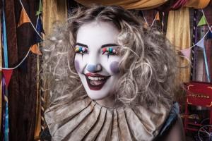 Vintage Clown performer