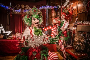 Christmas elf walkabout