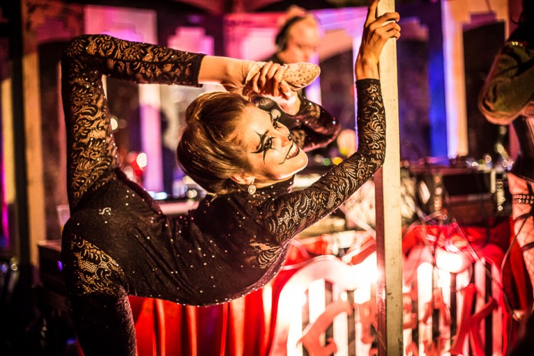 Contortionist at Freak Show