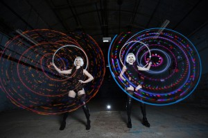 LED Hula Performers