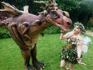 dragon slapping fairy
