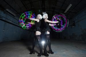 LED Glow girls
