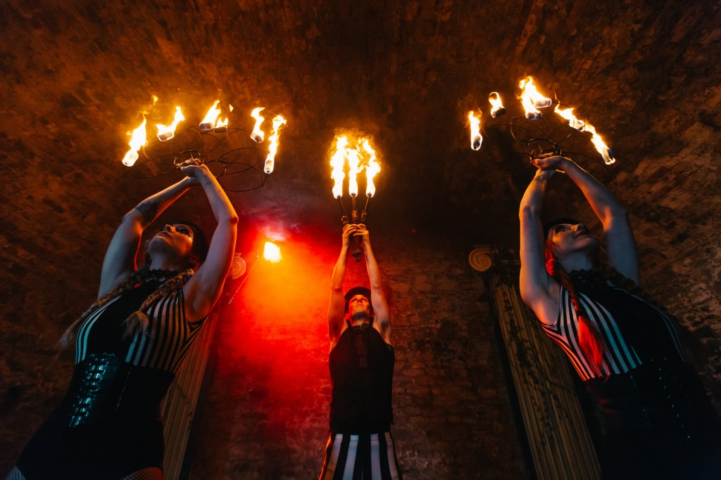 Hire a fire show today