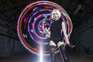 LED hula hooper available to hire UK