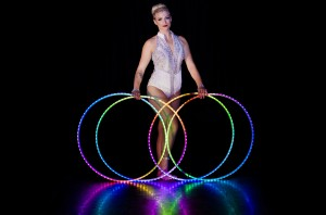 LED performer for hire