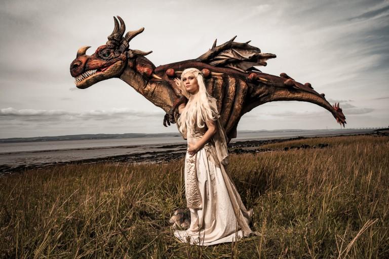 Animatronic Dragon hire UK