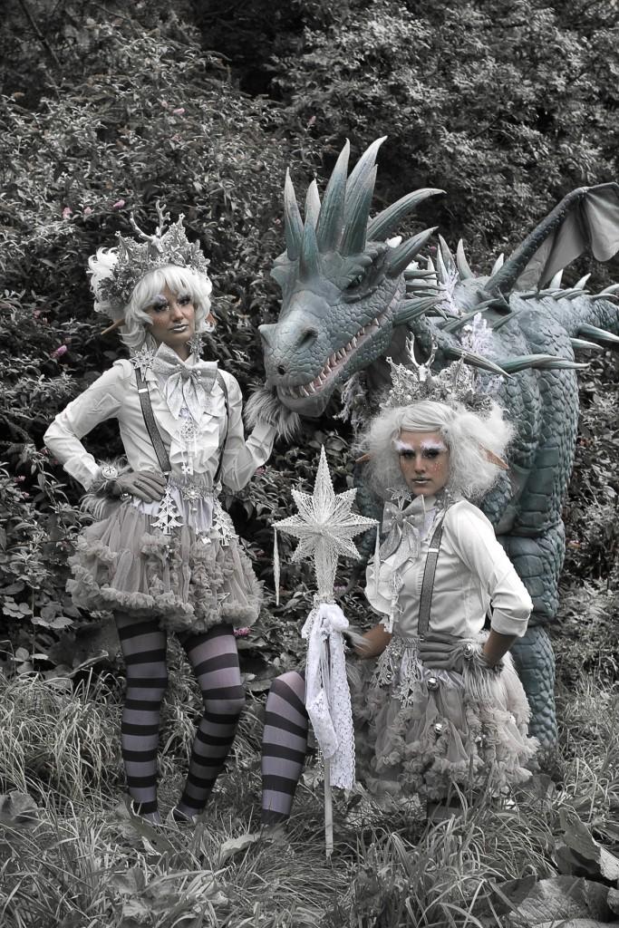 Hire dragon entertainment. Dragon performer for hire. Book a dragon. Hire a dragon. Book unique christmas entertainment. Christmas entertainment outside of the box. Winter Wonderland themed entertainment UK.