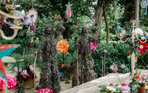 Enchanted Forest themed entertainment. Stilt walking trees for for hire.