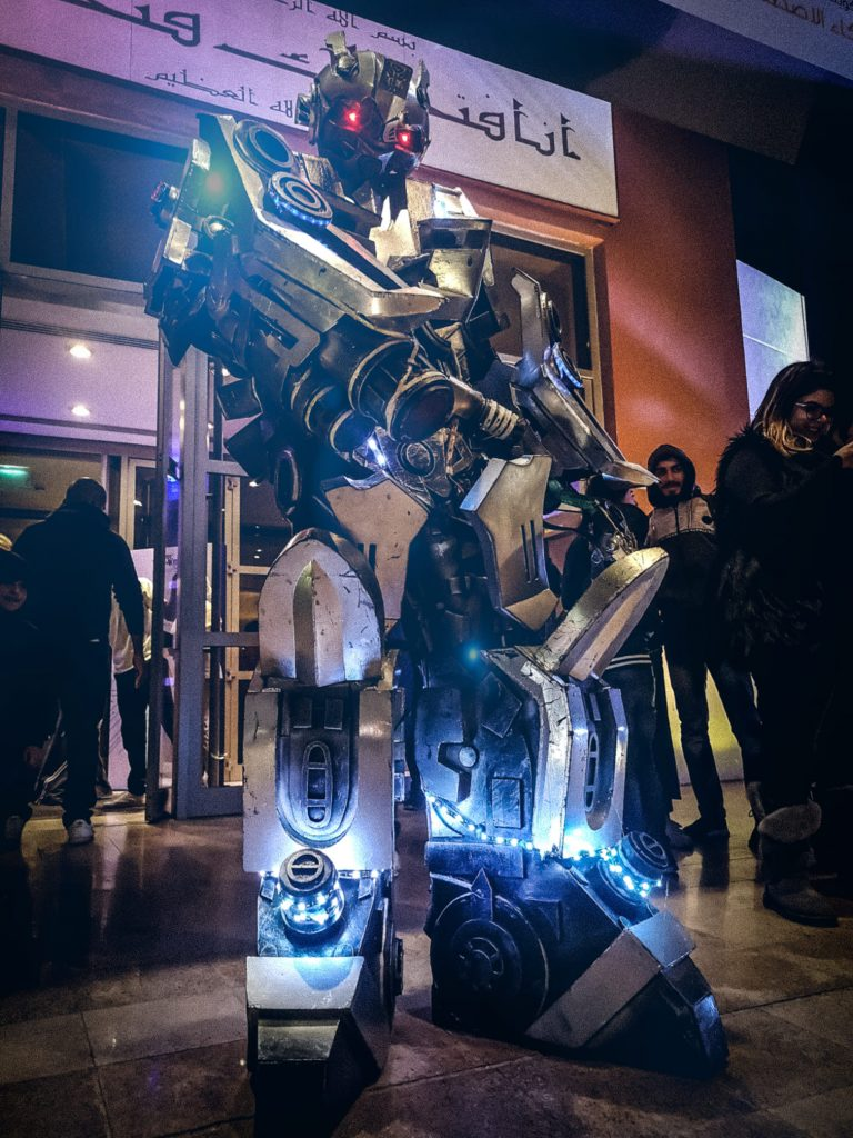 event robot walkabout
