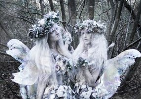 frost fairies perfect for Christmas themed entertainment