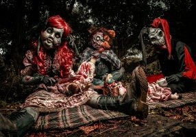 great Halloween  entertainment for hire in the uk