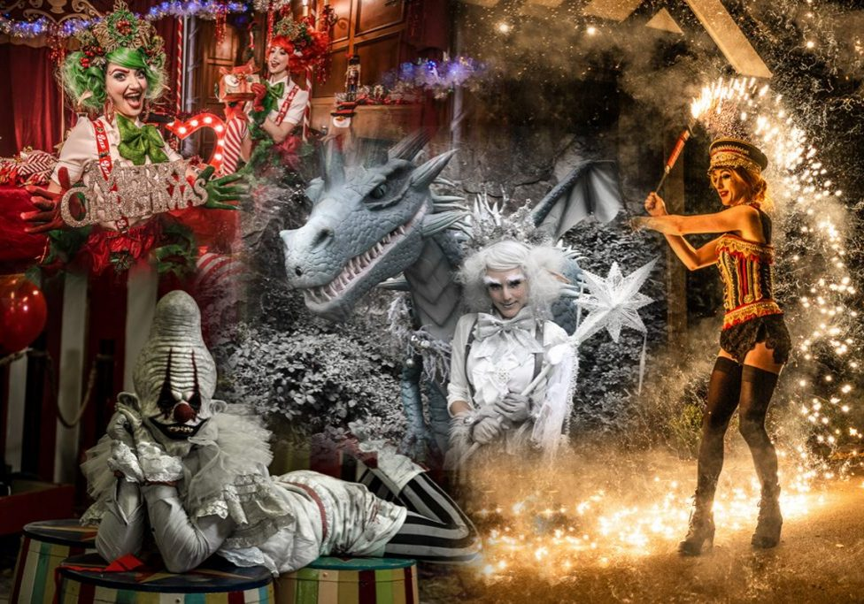 Themed entertainment - Halloween entertainment, Christmas entertainment, Bonfire Night entertainment, NYE entertainment