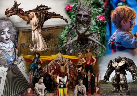 Circus and walkabout acts for hire